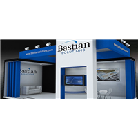 Bastian Solutions booth