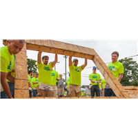 Habitat House build