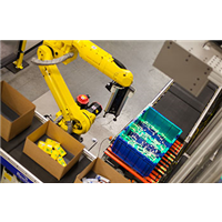 goods to robot system