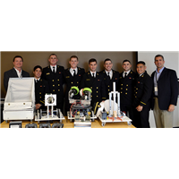 2016 Navy Robot Football Team