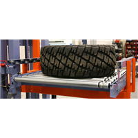 Tire material handling lift