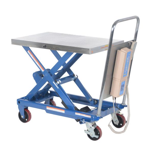 Vestil Linear Actuated Elevating Cart 35 50 Quot L X 20 Quot W X