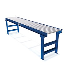 Unplated Steel Gravity Roller Conveyor - 1.9