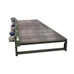 Zero Pressue Accumulating Pallet Conveyor - 8' Long x 45