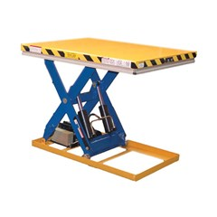 Hydraulic Lift Table - 3000 lbs. Capacity - 49 in L x 30 in W