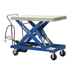 Hydraulic Lift Table - 2000 lbs. Capacity - 47.25 in L x 24 in W