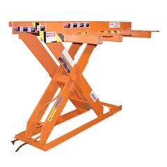 Hydraulic Lift Table - 6000 lbs. Capacity - 87 in L x 24 in W