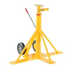 Large-Footed 100,000 lbs. Static Capacity Trailer Stabilizing Jack