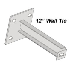 Accessories - Wall Tie 6In - Green