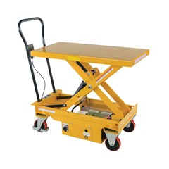 Hydraulic Lift Table - 1000 lbs. Capacity - 39.75 in L x 20.5 in W