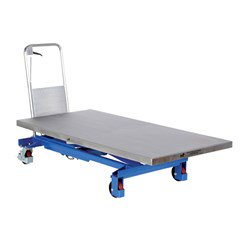 Hydraulic Lift Table - 1000 lbs. Capacity - 63 in L x 31.5 in W