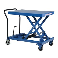 Portable Manual Lift Table - 1000 lbs. Capacity - 40.5 in L x 24 in W