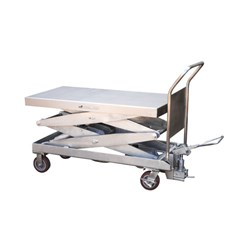 Hydraulic Lift Table - 1500 lbs. Capacity - 47.5 in L x 24 in W