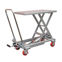 Hydraulic Lift Table - 220 lbs. Capacity - 27.5 in L x 15.75 in W