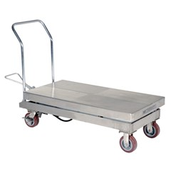 Hydraulic Lift Table - 2000 lbs. Capacity - 47 in L x 24 in W