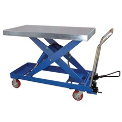 Hydraulic Lift Table - 2000 lbs. Capacity - 40 in L x 20 in W
