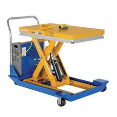 Portable Electric Lift Table - 1000 lbs. Capacity - 36 in L x 24 in W