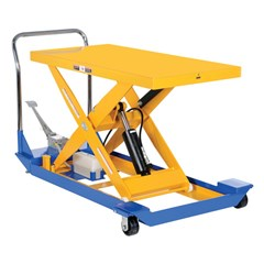 Portable Manual Lift Table - 1000 lbs. Capacity - 48 in L x 24 in W