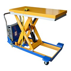 Portable Electric Lift Table - 1500 lbs. Capacity - 48 in L x 24 in W