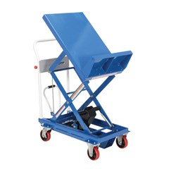 Portable Manual Lift Table - 400 lbs. Capacity - 30 in L x 19.5 in W
