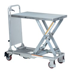 Hydraulic Lift Table - 400 lbs. Capacity - 27.5 in L x 17.625 in W