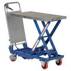 Hydraulic Lift Table - 400 lbs. Capacity - 27.625 in L x 17.75 in W