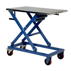 Mechanical  Lift Table - 660 lbs. Capacity - 37 in L x 23.5 in W