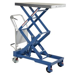 Hydraulic Lift Table - 800 lbs. Capacity - 35.5 in L x 20 in W