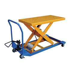 Portable Manual Lift Table - 1500 lbs. Capacity - 36 in L x 24 in W