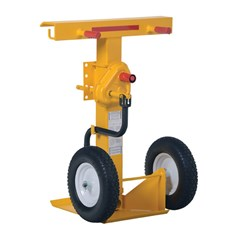Hand-Crank 100,000 lbs. Static Capacity Trailer Stabilizing Jack