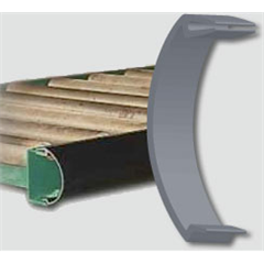 Rounded Conveyor Guard, 2-1/2