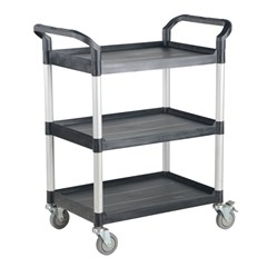 Commercial Cart 43X20 3-Shelf No Panels