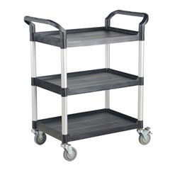 Commercial Cart 33X19 3-Shelf No Panels