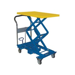 Portable Manual Lift Table - 770 lbs. Capacity - 35.8 in L x 23.6 in W