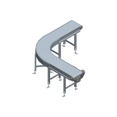7350 Series Low Profile Belt Covneyor - 24