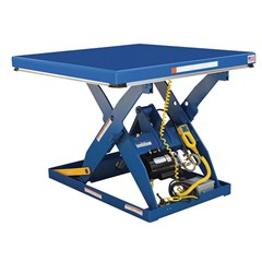 Hydraulic Lift Table - 4000 lbs. Capacity - 48 in L x 48 in W
