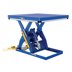 Hydraulic Lift Table - 3000 lbs. Capacity - 48 in L x 48 in W