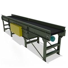 Gapping Slider Bed Belt Conveyor