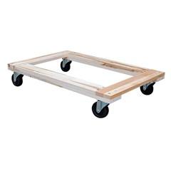 Hardwood Dolly Open Deck 1.2K Lb 24 X 36