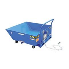 1/2 Cubic Yard Low Profile Parts Hopper Cart