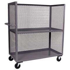 3 sided mesh truck 36 x 72 two shelves