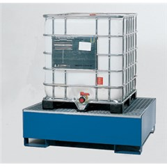 IBC Tote Spill Containment Sump - One-Tote, Steel
