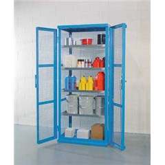Containment Shelving, Caged 38