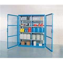 Containment Shelving, Caged 74