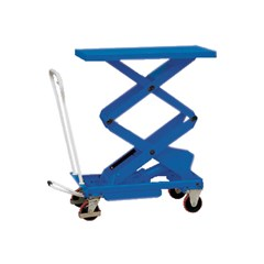 Portable Manual Lift Table - 2200 lbs. Capacity - 39.75 in L x 20.5 in W