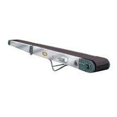 Aluminum Portable Folding Belt Conveyor - 21' Long x 18