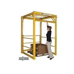 Overhead Safety Gate - Installation Footprint: 65