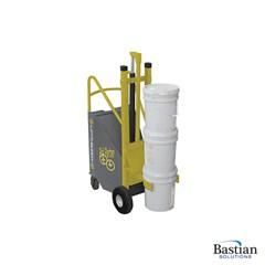 Portable Electric Lift'n Buddy Pail Partner - 4-Wheel Pail Partner - 200 lbs. Capacity