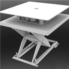 Hydraulic Lift Table - 6000 lbs. Capacity - 60 in L x 60 in W