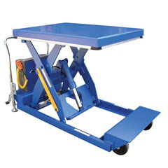 Portable Electric Lift Table - 2000 lbs. Capacity - 64 in L x 24 in W